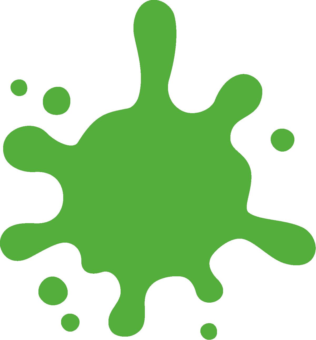 green splash